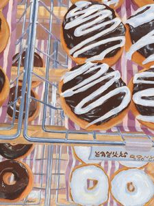 Donut Time - Lynne Reichhart Fine Art