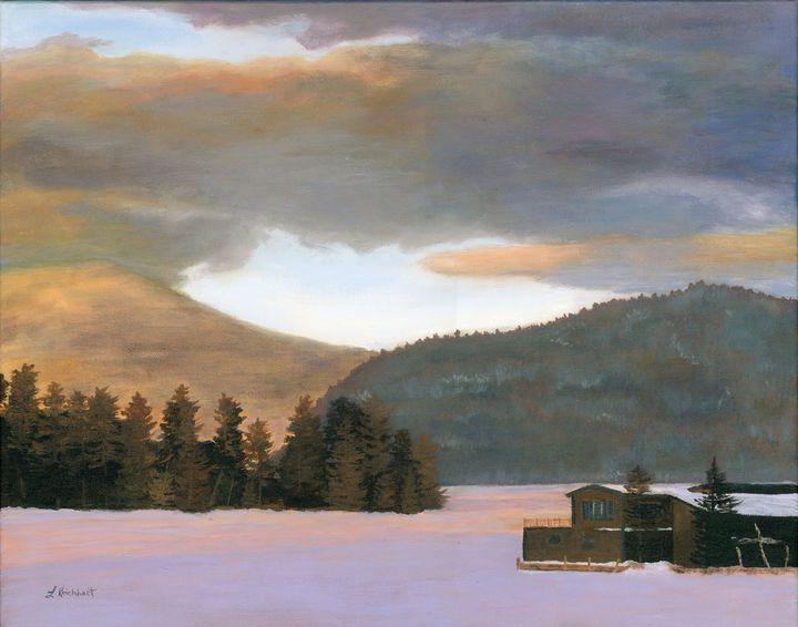 Adirondack Morning - Lynne Reichhart Fine Art