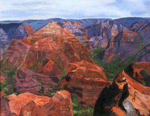 Waimea Canyon - Lynne Reichhart Fine Art
