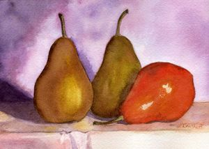 Leaning Pear
