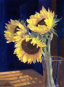 Sunflowers and Light