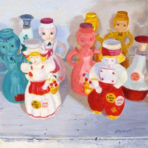 Laundry Ladies - Lynne Reichhart Fine Art