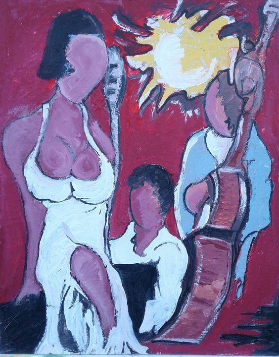 Jazz club scene - Reeds gallery