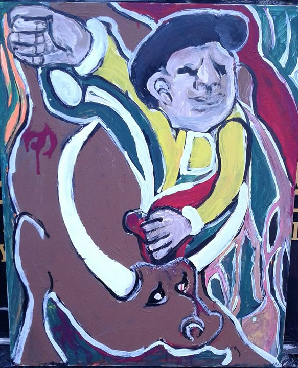 Bull fighter - Reeds gallery