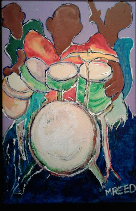 Abstracted drums - Reeds gallery