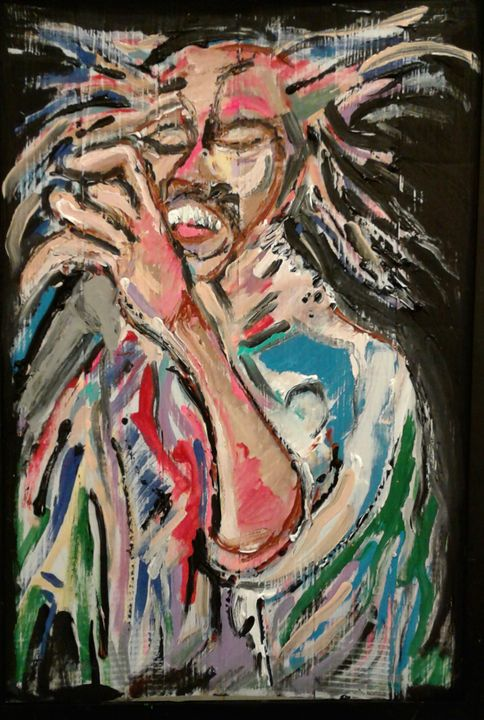 Bob Marley abstract - Reeds gallery