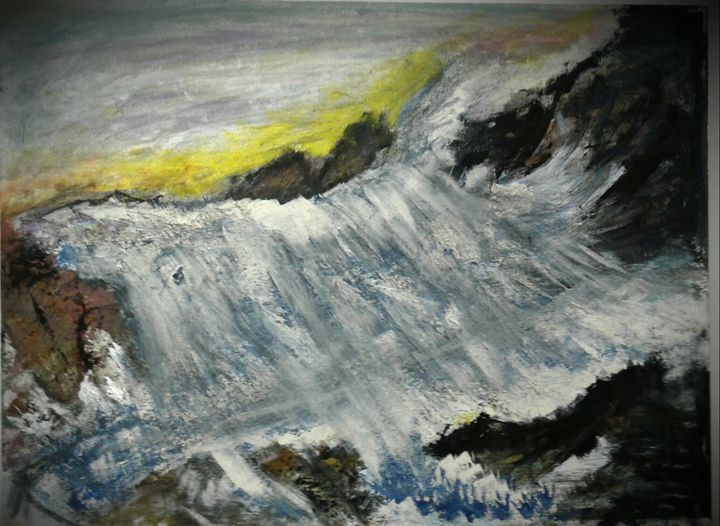 Waves on the rocks - Reeds gallery