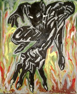 Abstracted  Black Panther