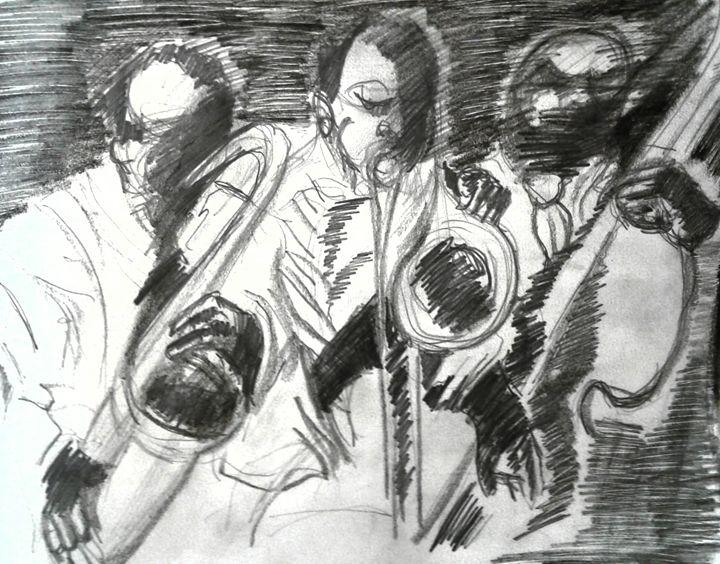 Jazz sketch - Reeds gallery