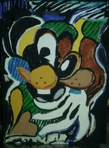 goofy abstract