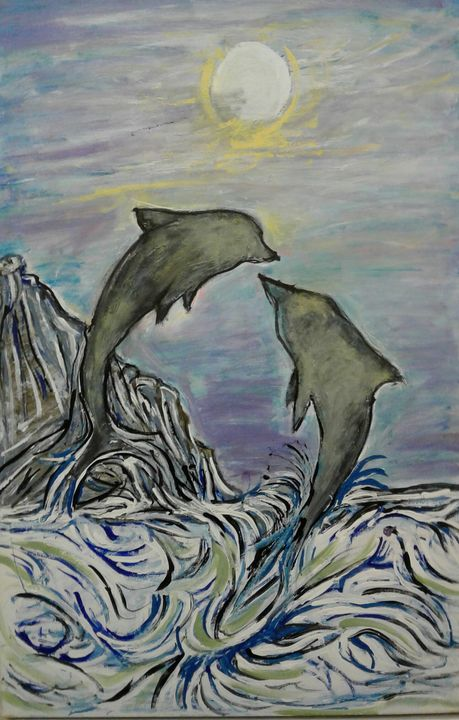 dolphins on the bay - Reeds gallery