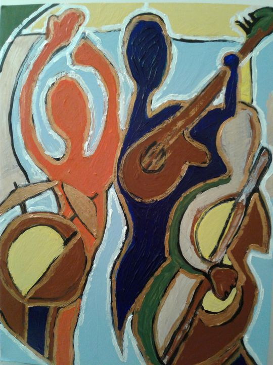Jazz abstract - Reeds gallery