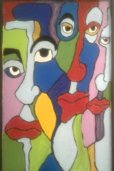 abstract faces - Reeds gallery