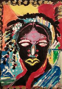 Abstract African