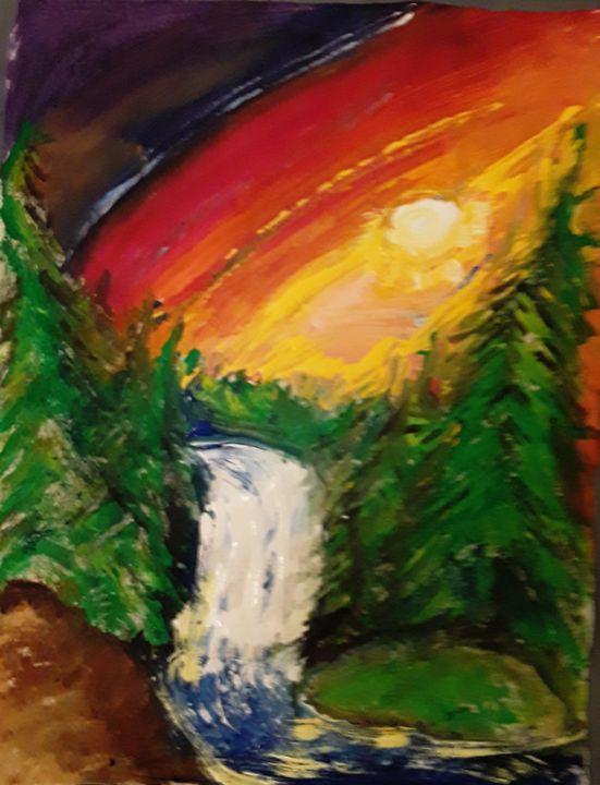 Rainbow Landscape - Reeds gallery