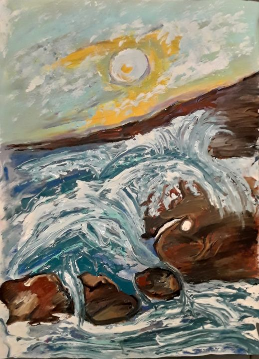 Sea Landscape - Reeds gallery