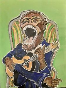 Monkey sing