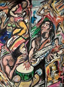 Bob Marley  abstract