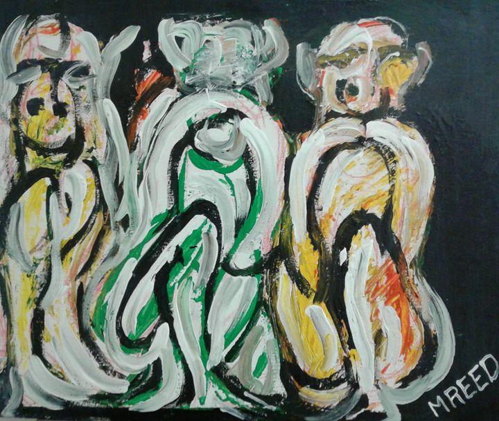 Monkey salute - Reeds gallery
