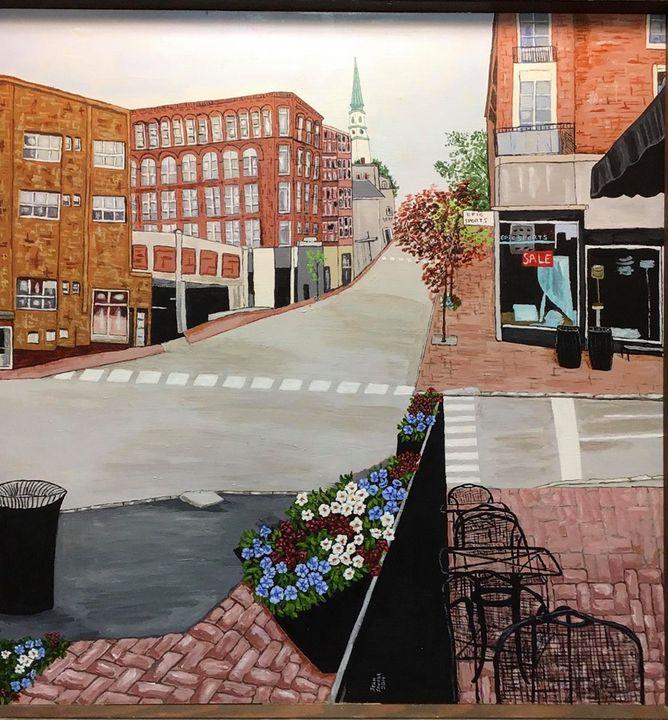 Streets of Bangor - Jean Savage Art