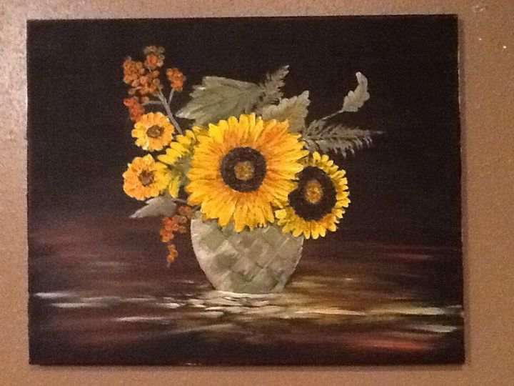 Sunflower make me happy - Leeway