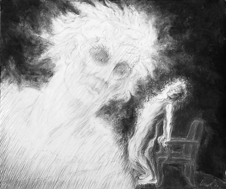 Caesar's Ghost - Richard Claraval Art