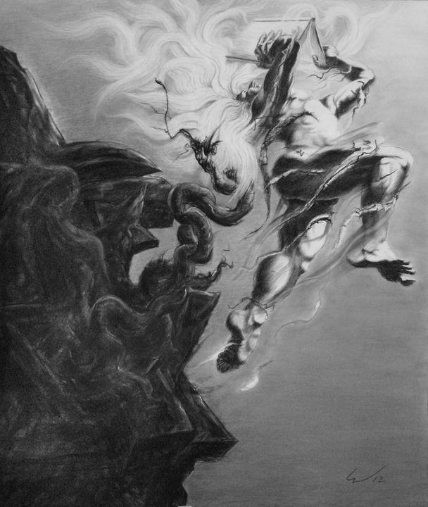 Prometheus Unbound - Richard Claraval Art