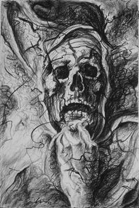 Skull (after Michelangelo)