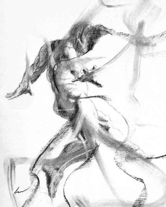 Ron Flying - Richard Claraval Art
