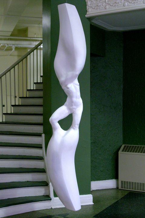 Anti-caryatid Kate - Richard Claraval Art