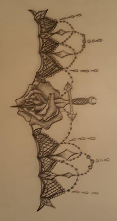 Rose of thorns - D.'s art