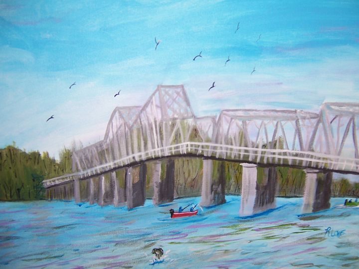 BB COMER BRIDGE - ART BY RITA