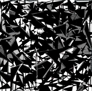 Enigmatic - Black and White Abstract
