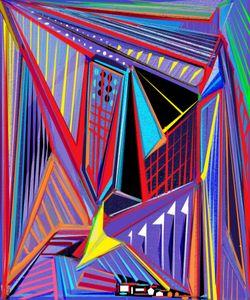 Tribella, Abstract Digital Art