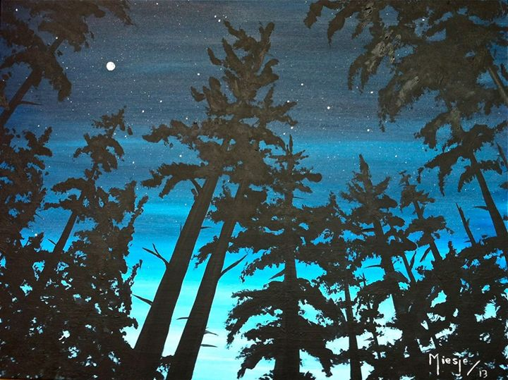 Upwards to the Heavens 30x40 - Artist Miesje