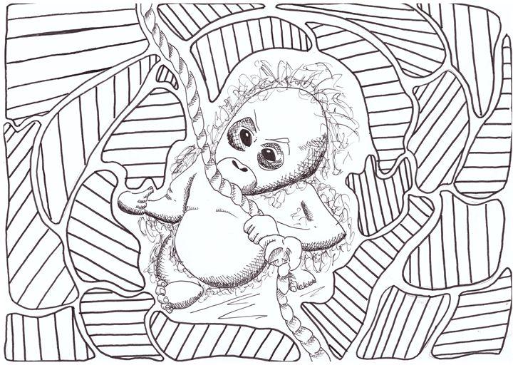 Playful Baby - ZeMonkey