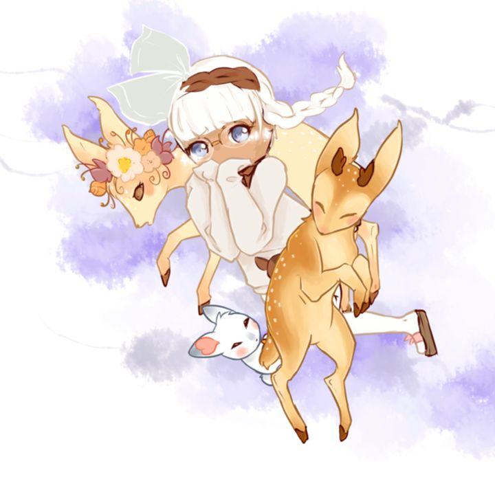 Among Deer - NoelleDraws