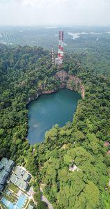 Hindhede Quarry at Bukit Timah