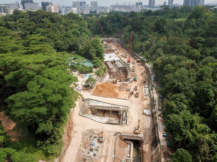 Aerial Shot of Construction Site - CaptainMavicPro