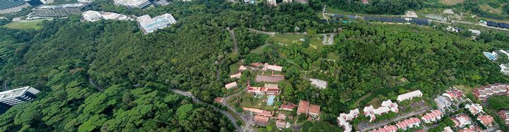 Aerial Panorama of Kent Ridge Park - CaptainMavicPro