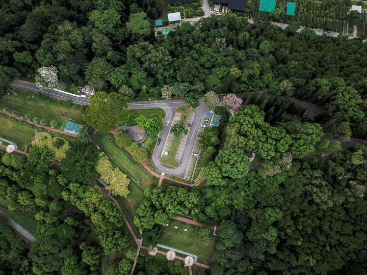 Aerial Image of Kent Ridge Park - CaptainMavicPro