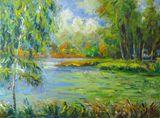 Lithuanian Landscape oil painting