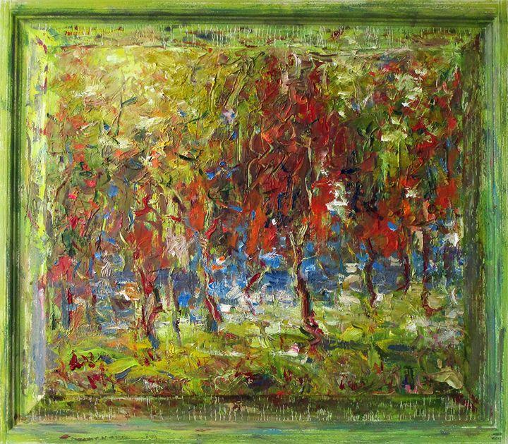 Red Trees - Liudvikas Daugirdas