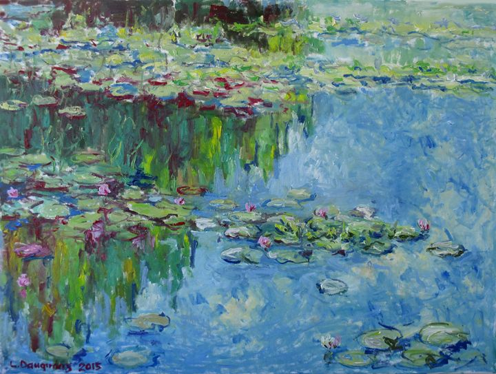 Lily Pond - Liudvikas Daugirdas