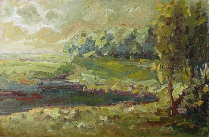 Landscape - Liudvikas Daugirdas