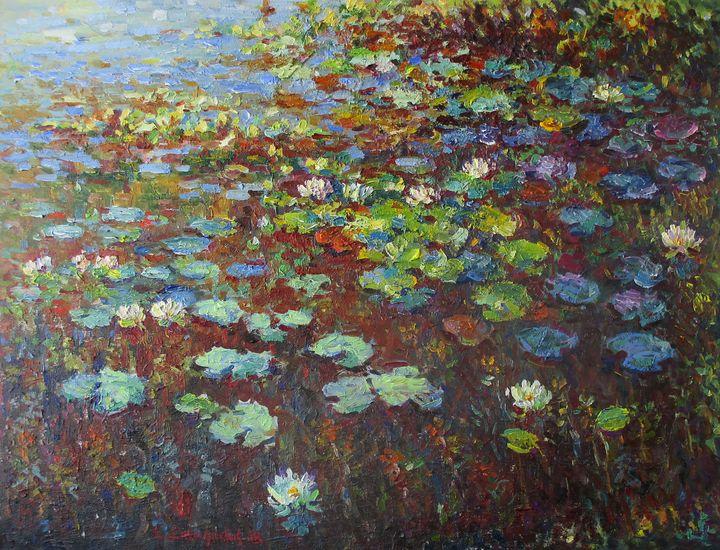 Water Lilies - Liudvikas Daugirdas