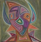 pastels, paper
