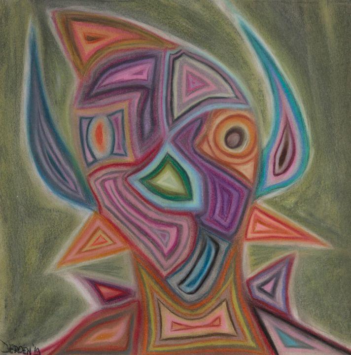 Abstract portrait nr. 6 - Jeroen ter Welle