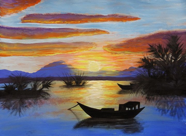 Vietnamese Sunset - Kerry Chapman