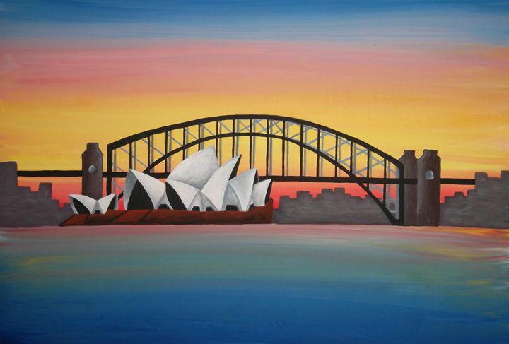 Sydney Sunset - Kerry Chapman